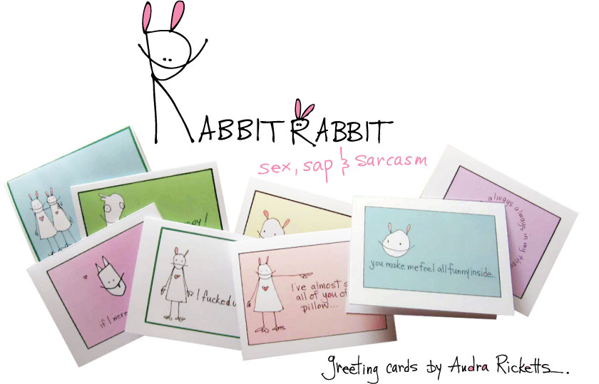 Rabbit Rabbit Cards!